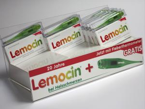 Lemocin Thekendisplay der Firma HOHN